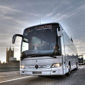 dj-coaches-driving-through-london